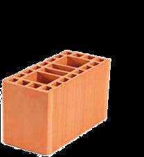 tijolo estrutural 14x19x29 Braúnas