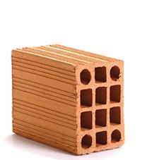 tijolo vedação 14x19x19 Braúnas