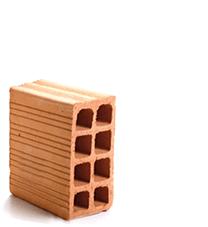 tijolo vedação 11.5x19x14 Braúnas