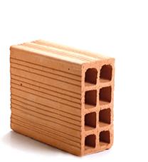 tijolo vedação 11.5x19x29 Braúnas